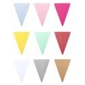 Coloris des fanions disponibles