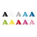 Coloris pour lettrage disponibles