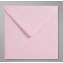Enveloppes Carrées Rose pour faire-part