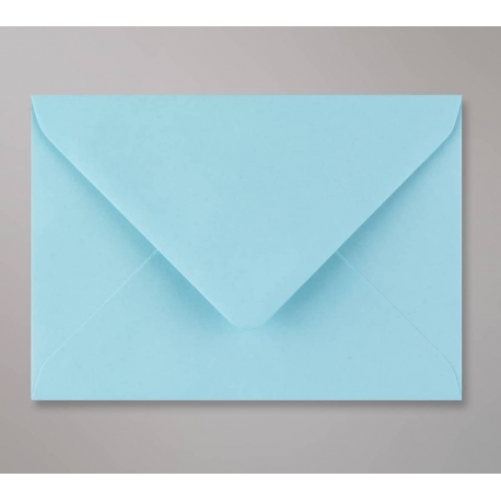 Enveloppes C6 bleu pour faire-part