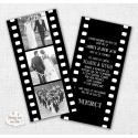 Carte Remerciements Mariage - Cinéma