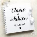 Livre d'Or mariage - Calligraphie à personnaliser pour votre mariage