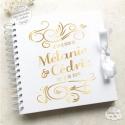 Livre d'Or mariage - Arabesque - à personnaliser pour votre mariage