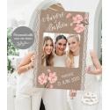 Cadre Photo Booth / cadre à selfies - Bohème / Romantique personnalisé