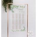 Plan de table sur Plexiglass transparent - Végétal