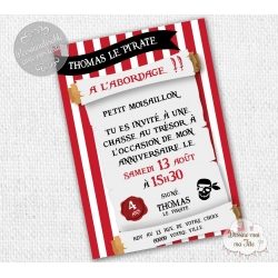 invitations anniversaire personnalisees