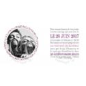 INTERIEUR - Faire part de Mariage - Liberty rose