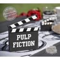 """Marque-table """"Clap Cinéma"""" personnalisé"""
