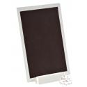 "Marque-table ""Ardoise blanche"" - orientation verticale"
