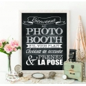 Tableau Photobooth Ardoise 1