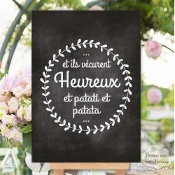 Panneau De Mariage Et Pancarte Dessine Moi Ma Fête