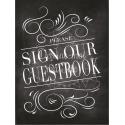 Tableau Guestbook / Livre d'Or (anglais)- Ardoise 1