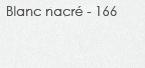 blanc nacré - 166